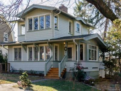 Asheville Single Family Home For Sale: 89 Woodward Avenue