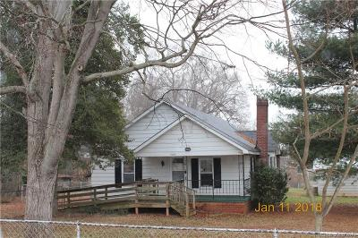 Salisbury NC Single Family Home For Sale: $82,500