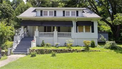 Tryon NC Single Family Home For Sale: $138,500