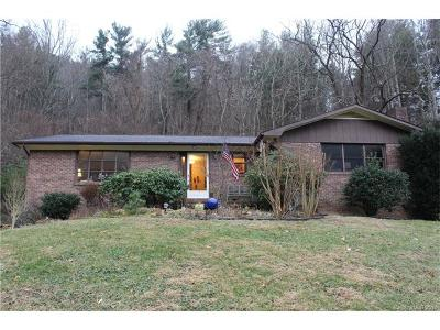 Asheville Single Family Home For Sale: 357 Baird Cove Road