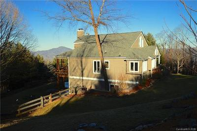 Waynesville Single Family Home For Sale: 143 Strickland Drive