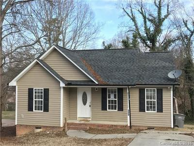 Kannapolis Single Family Home For Sale: 500 W 9th Street