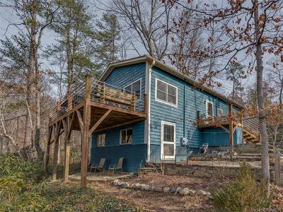 Lake Lure Single Family Home For Sale: 134 Neighborly Drive