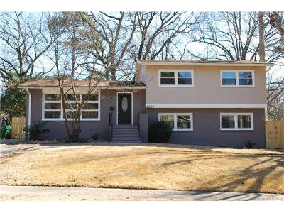 Single Family Home For Sale: 3900 Winterfield Place