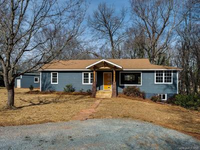 Mint Hill Single Family Home For Sale: 9807 Hannon Road