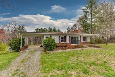 Rutherfordton Single Family Home For Sale: 355 Oak Springs Road