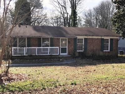 Kannapolis Single Family Home For Sale: 410 V8 Street