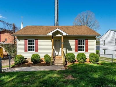 Asheville Single Family Home For Sale: 18 Baldwin Street