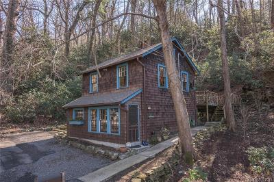 Asheville Single Family Home For Sale: 158 Cherokee Road