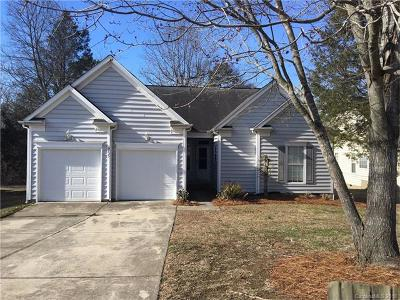 Charlotte NC Single Family Home For Sale: $164,000