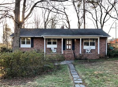 Lincolnton Single Family Home Under Contract-Show: 351 Eastwood Drive