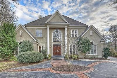 Charlotte NC Single Family Home For Sale: $1,199,000