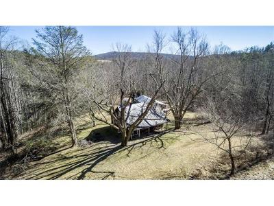 Hendersonville Single Family Home For Sale: 1813 Low Gap Road