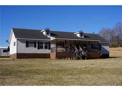 Polk County, Rutherford County Single Family Home For Sale: 1714 Union Road