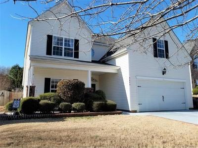 Waxhaw Single Family Home For Sale: 2025 White Cedar Lane