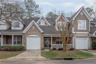 Charlotte Condo/Townhouse For Sale: 4460 Coventry Row Court