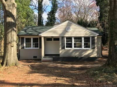 Charlotte NC Single Family Home For Sale: $329,000