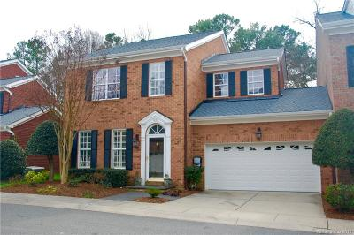 Charlotte Condo/Townhouse For Sale: 9251 Bonnie Briar Circle