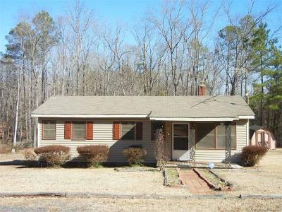 Mount Gilead NC Single Family Home For Sale: $42,500