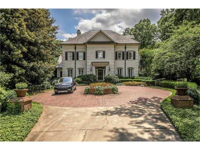 Charlotte Single Family Home For Sale: 300 Eastover Road