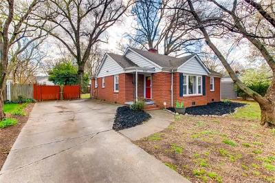 Single Family Home For Sale: 3523 Eastway Drive