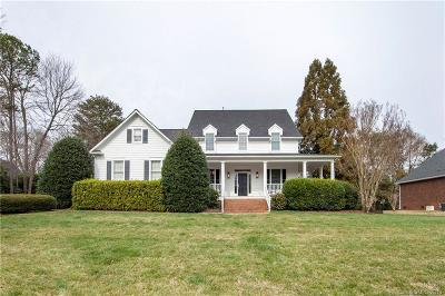 Charlotte Single Family Home Under Contract-Show: 3710 Brushy Lane