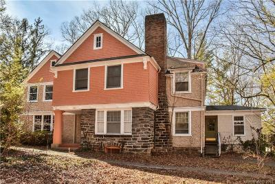 Asheville Single Family Home For Sale: 240 Pearson Drive