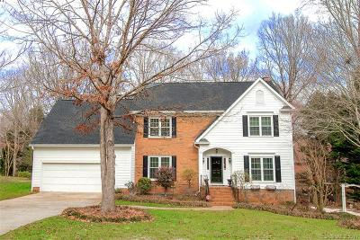 Charlotte Single Family Home For Sale: 5200 Shadow Pond Lane