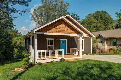 Asheville NC Single Family Home For Sale: $499,900