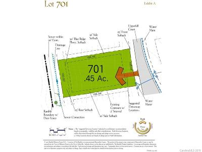 Asheville Residential Lots & Land For Sale: 112 Upperfell Court #701