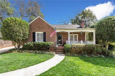 Myers Park Single Family Home Under Contract-Show: 2813 Hillsdale Avenue