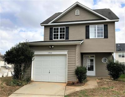 Charlotte Single Family Home For Sale: 1942 Willie Worrell Drive