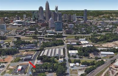 Charlotte Residential Lots & Land For Sale: 1113 Tryon Street