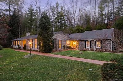 Asheville Single Family Home For Sale: 17 Brookside Road