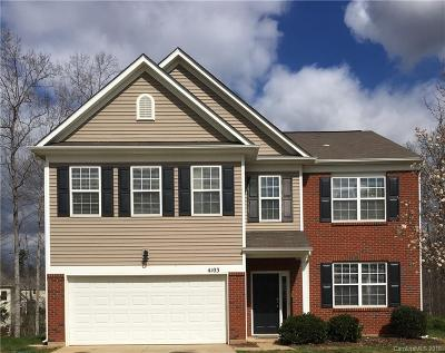 Indian Trail Single Family Home Under Contract-Show: 4103 Less Traveled Trail