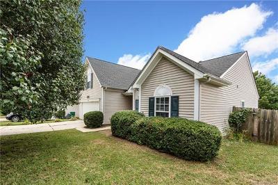 Charlotte Single Family Home For Sale: 9043 Sanders Creek Court