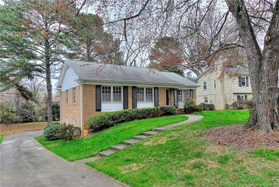 Charlotte Single Family Home For Sale: 4015 Pemberton Drive