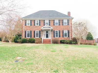 Gastonia Single Family Home For Sale: 2930 Colony Woods Drive