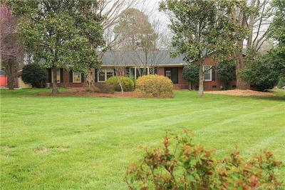 Mint Hill Single Family Home For Sale: 5848 Lebanon Road
