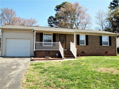 Cabarrus County Single Family Home Under Contract-Show: 125 Crescent Street