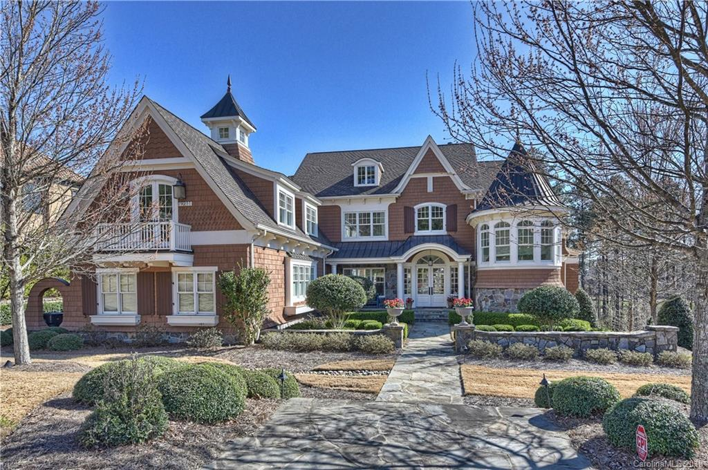 7 Bed 6 Full 1 Partial Baths Home In Charlotte For 2250000
