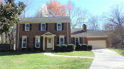 Charlotte NC Single Family Home Under Contract-Show: $369,999