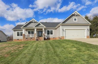 Troutman Single Family Home For Sale: 125 Fallen Acorn Drive