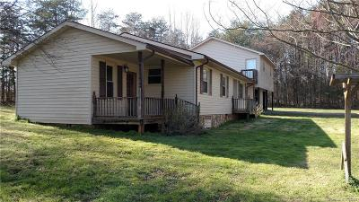 Iredell County Single Family Home For Sale: 332 Mt Bethel Road