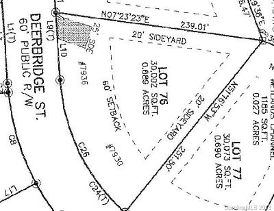 Residential Lots & Land For Sale: 7930 Deerbridge Street #76