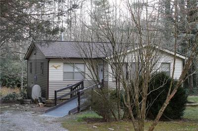 Transylvania County Single Family Home For Sale: 586 Little Elbow Mountain Road