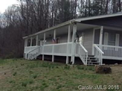 Hot Springs NC Single Family Home For Sale: $199,500