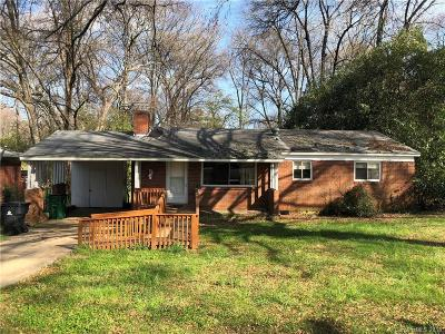 Charlotte NC Single Family Home For Sale: $119,900