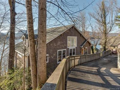 Lake Lure, Mill Spring Single Family Home For Sale: 196 Yacht Island Road