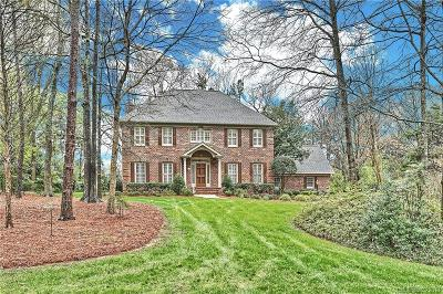 Weddington Single Family Home Under Contract-Show: 3009 Rock Ridge Pass
